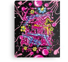 """""""Bubblegum Saturday"""" Metal Print"""