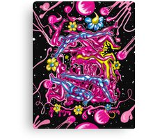 """Bubblegum Saturday"" Canvas Print"