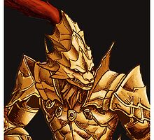 Dark Souls: Ornstein Solo 2 case by MenasLG