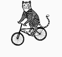 Cat on a Bike Ride  Unisex T-Shirt