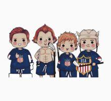 Team USA by widdlekes