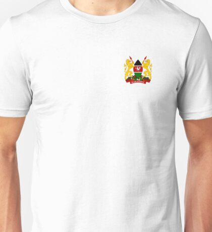 Kenya Coat Of Arms Unisex T-Shirt