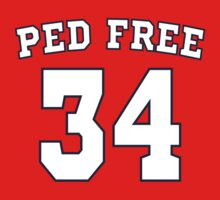 Washington Nationals Bryce Harper PED Free T Shirt by xdurango