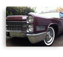 66 Cadillac Canvas Print