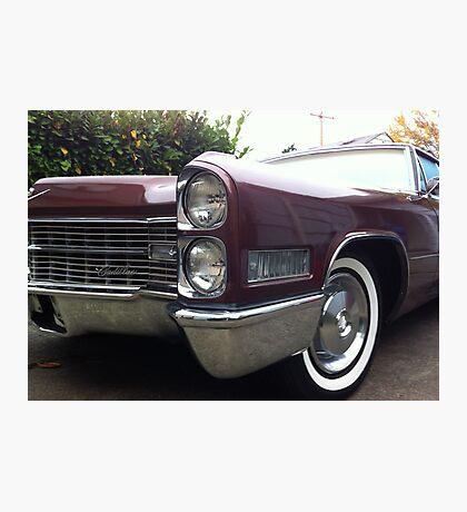 66 Cadillac Photographic Print