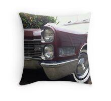 66 Cadillac Throw Pillow