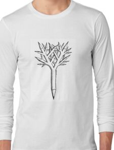 Pen and tree Long Sleeve T-Shirt