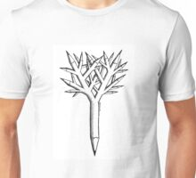 Pen and tree Unisex T-Shirt