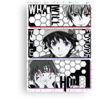 What Will The Future Hold - Future Diary Canvas Print