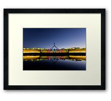 Enlightened Parliament - The Electorates Framed Print