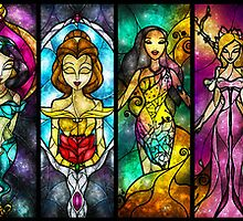The Princesses by Mandie Manzano