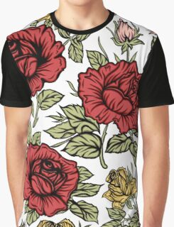 Floral rose Graphic T-Shirt