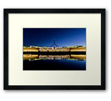 Enlightened Parliament - Puzzle Framed Print
