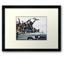 Cookie Marauder Framed Print