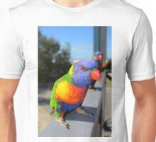 Rainbow Lorikeet Parrot Unisex T-Shirt