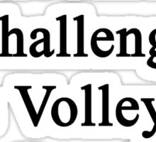 Cancer Is Just Another Challenge This Volleyball Coach Will Overcome Sticker