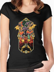 Epic Super Metroid Women's Fitted Scoop T-Shirt