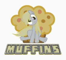 Derpy Hooves Muffins Shirt by derpbubbles
