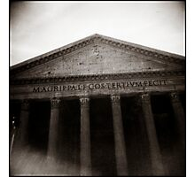 { the pantheon } Photographic Print