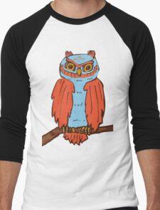 Surreal Owl Men's Baseball ¾ T-Shirt