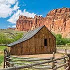 Old Barn at Fruita, Utah by Kenneth Keifer