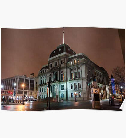 City Hall - Providence, Rhode Island Poster