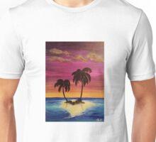 Paradise Palm Tree Island Unisex T-Shirt