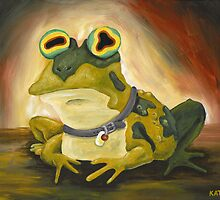 All Glory to the Hypnotoad by Katie Clark