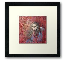 The trace of a memory... Framed Print