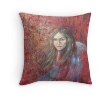 The trace of a memory... Throw Pillow