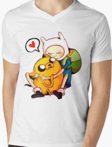 Best Buds Mens V-Neck T-Shirt