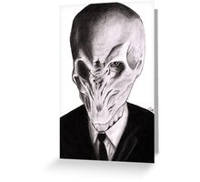 Silence Will Fall Greeting Card