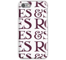 Roses and Spice iPhone Case/Skin