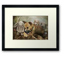 Finders Keepers  Framed Print