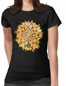 RETRO SUNSHINE Womens Fitted T-Shirt