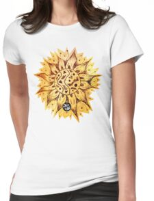 RETRO SUNSHINE Womens Fitted T-Shirt
