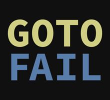 GOTO FAIL Kids Clothes