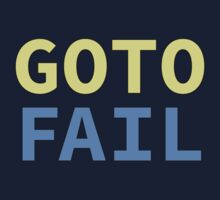 GOTO FAIL Kids Tee