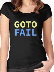 GOTO FAIL Women's Fitted Scoop T-Shirt