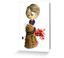 Exterminate the rude Greeting Card