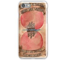 Red Sky At Morning iPhone Case/Skin