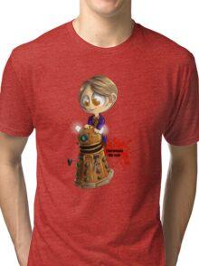 Exterminate the rude Tri-blend T-Shirt