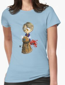 Exterminate the rude Womens Fitted T-Shirt