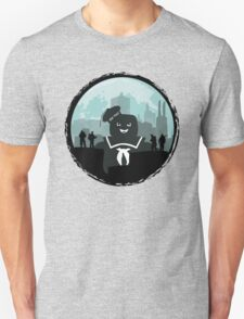 Ghostbusters versus the Stay Puft Marshmallow Man T-Shirt