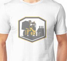 Forklift Truck Materials Handling Logistics Retro Unisex T-Shirt