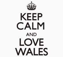 Keep Calm And Love Wales by CarryOn