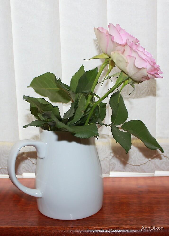 Jug of Roses by AnnDixon