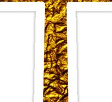 Golden Anchor Sticker