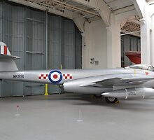 Gloster Meteor F.8   56 Squadron by mike  jordan.