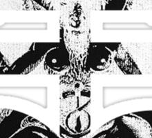 Satanic Cross Sticker